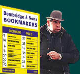 Advantageous strategy of rates in bookmaker office